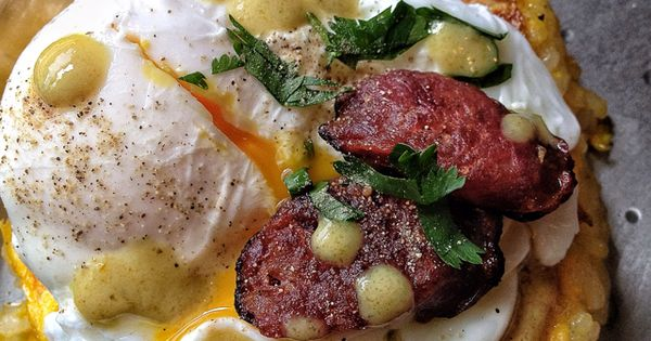 Breakfast Rice Cakes With Chinese Sausage Recipe — Dishmaps