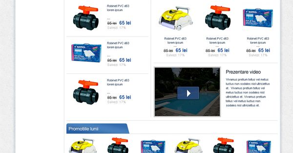 magazin online piscine si accesorii pentru piscina spa