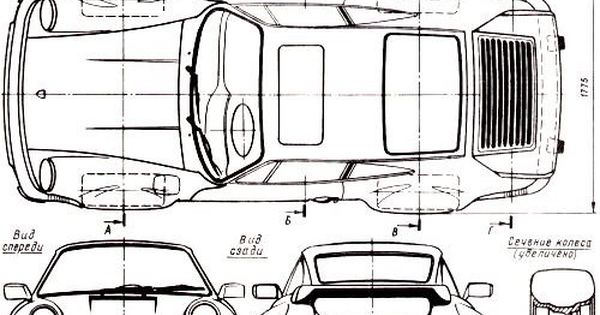 orthographic drawing of sport car   muhammad attariq zamel