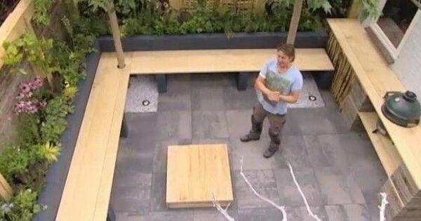 Tuinbank maken eigen huis en tuin google zoeken tuin pinterest tuinbank huis en tuin en - Massief idee van tuin ...