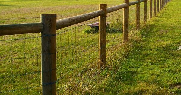 Rural Fencing I Like This Fence But Would Use Square
