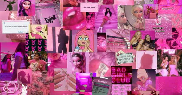 Bratz Barbiecore Aesthetic Laptop Wallpaper Pink Wallpaper Laptop Pretty Wallpaper Iphone Pink Wallpaper Girly