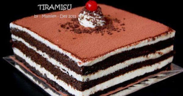 Coba Coba Resep Tiramisu Kue Tiramisu Memanggang Kue Hidangan Penutup
