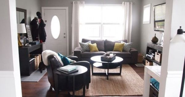 Our Previous Cape Cod House Living Rooms And Gray