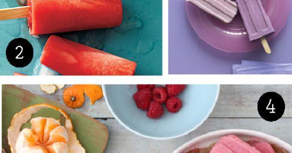 Popsicles and Samoa on Pinterest