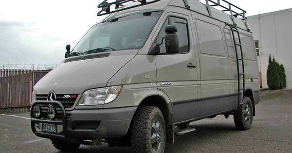 sprinter van overland | 4x4 conversion. like the color of ...
