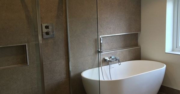 Freestanding Bath Installation In Leeds A Project By Uk Bathroom Guru See More Http