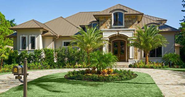Coastal Florida French Country House Plan 75980