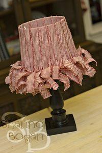 Fun With Fabric Diy Lamp Shade Fabric Lampshade Lampshade Makeover