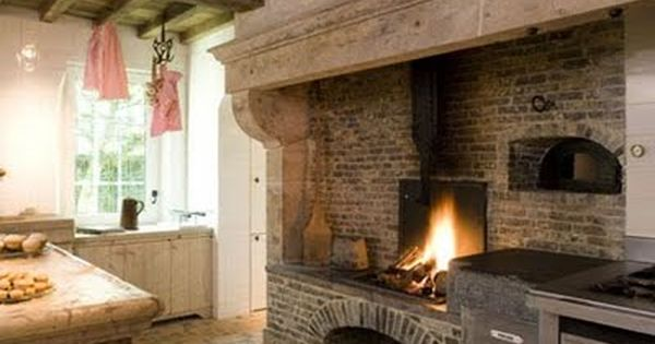 Fire Place Pizza Oven Si Fireplace Cooking Kitchen Fireplace