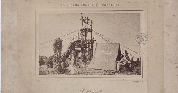 El Mangrullo Tuyuty Paraguay Junio Julio De 1866 Autor Javier Lopez Bate Y Ca Albumina 26 5 X 35 Cm Biblioteca N Vintage World Maps Prints Exhibition