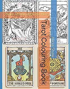 Coloring Book Of Shadows Tarot Journal Amy Cesari 9781795727013 Amazon Com Books Coloring Books Tarot Book Of Shadows