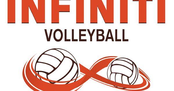 Infinity Logo Design For Volleyball Club Logo Design