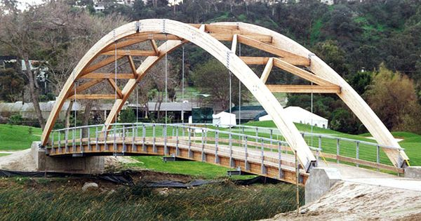 Chinese timber frame architecture glue laminated timber for Timber frame bridge
