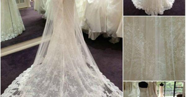 La Sposa 'Denia' Stunning lace overlay!   Inspiration ...