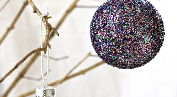 DIY Glitter Christmas Decor| http://christmas-decor-843.blogspot.com