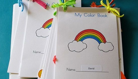 Color Books Things To Share And Remember Preschool Colors Coloring Books Teaching Colors