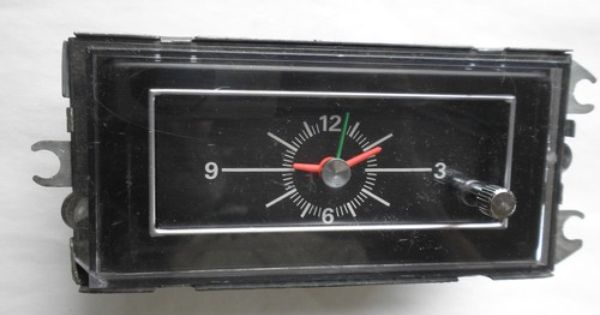 Pin On Vintage Car Clocks For Sale