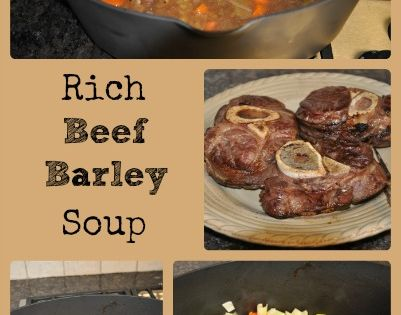 Rich Beef Barley Soup Recipe Barefoot Contessa The O