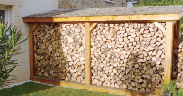 abri bois autoportant poteaux red cedar toiture en. Black Bedroom Furniture Sets. Home Design Ideas