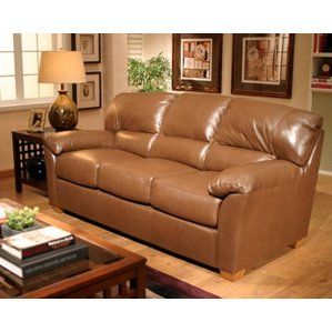 Cedar Heights Leather Sleeper Sofa By Omnia Leather Top Reviews Leather Sofa Set Living Room Sets Leather Sofa