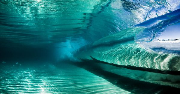 Inside a Wave. Photo by Alex Ormerod