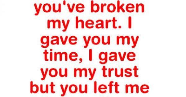 ... Broken Trust Quotes Trust