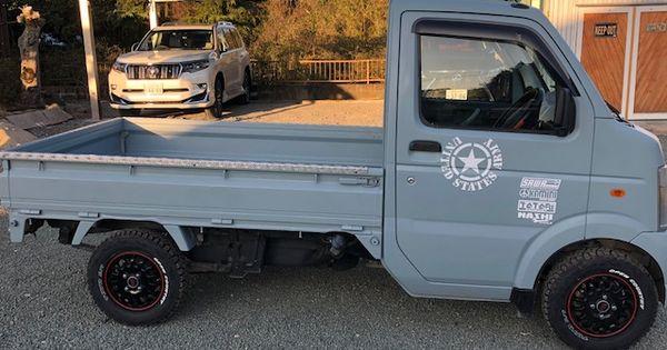 軽トラックを世田谷ベースカラーで刷毛塗り全塗装 刷毛 ハケ ローラーで車をdiyで全塗装しよう 軽トラック キャリイ 車