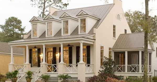 Eastover Cottage Plan 1666 - 17 House Plans with Porches - Southern