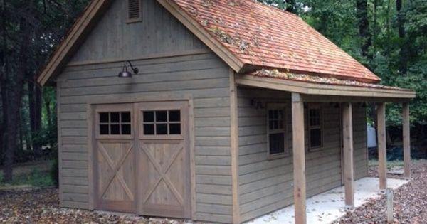 14 X 24 Montcrest Garage Garrison Ny Summerwood Backyard Barn Building A Shed Garage Door Design