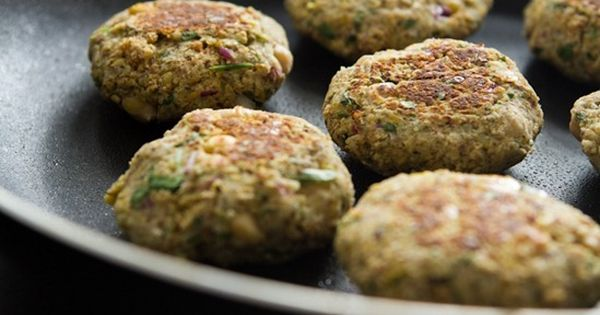 Falafel with a Twist-spin on traditional falafel. It's ...