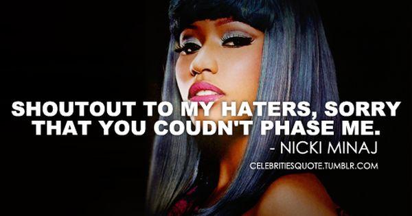 Nicki Minaj Pics With Quotes: It's Barbie Bitch