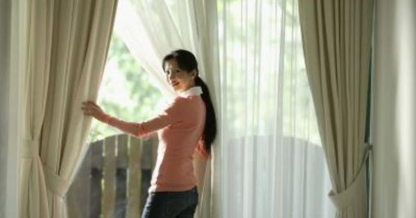 How To Fix Bending Curtain Rods Double Curtains Double Rod