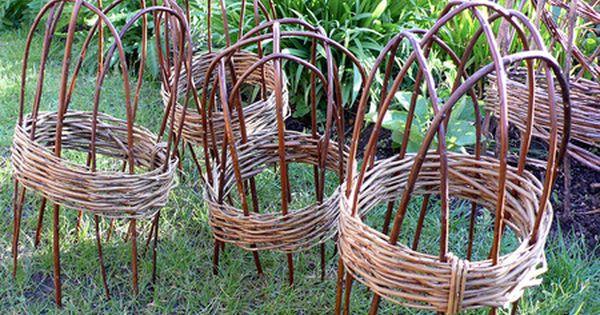 Willow garden cloche small budget gardening pinterest for Garden cloche designs
