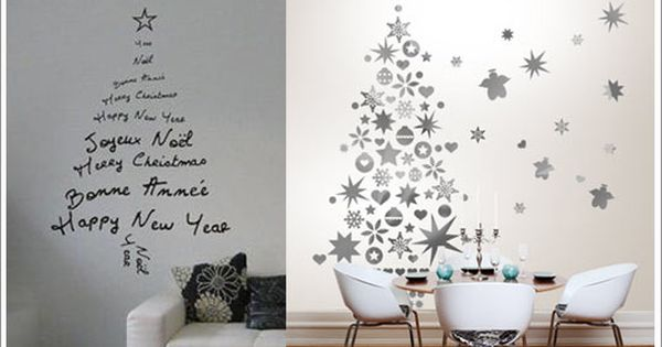 Stickers Sapin D Co De No L Design No L Christmas Pinterest D Co De No L