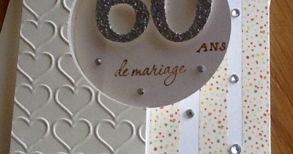 60 ans de mariage noces de diamants scrapbooking - 8 ans de mariage noce de ...