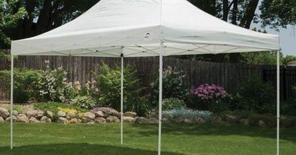 Shelterlogic 10 Ft W X 15 Ft D Steel Pop Up Canopy Canopy Pop Up Tent Design