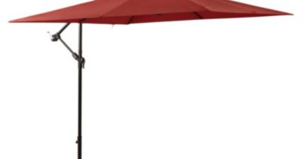 Really 8x8 Feet 11 Foot Square Umbrella In Salsa With