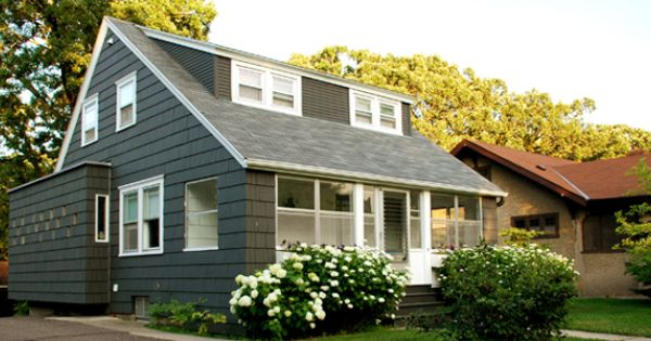 Looks like two shed dormers curb appeal pinterest for Cape cod dormer addition