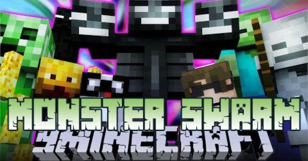 Monster Swarm Mod 1 8 9 1 7 10 Minecraft 1 9 1 8 1 7 10 Minecraft Mobs Minecraft Minecraft Mods
