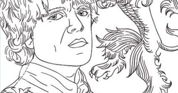 Tyrion Game Of Thrones Coloring Page