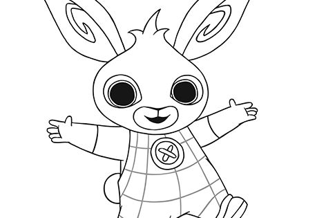 A complete set of Bing Bunny and friends colouring sheets ...