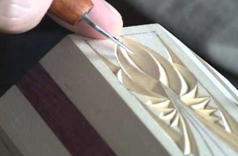 Chip carving how to spell relief part woodshop