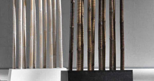 Fioriere divisori con canne di bamb jpg 657 994 for Divisori con fioriere