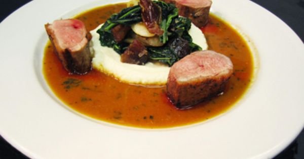 Rohan Duck Breast, Celery Root Puree, Roasted Salsify, Tuscan Kale ...