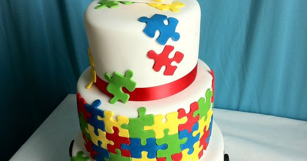 Autism Awareness Cake by A Little Imagination Cakes cke ...
