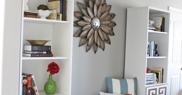 ikea bookshelf hack billy b cherregal mit t ren im griechischen stil ikea hacks. Black Bedroom Furniture Sets. Home Design Ideas