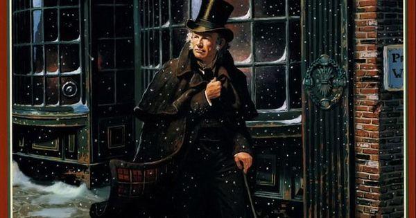 A Christmas Carol By Charles Dickens, Stephen Krensky Illustrated by Dean Morrissey   ART - DEAN ...