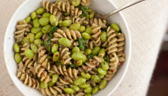 Basic Basil Walnut Pesto | Recipe | Pesto, Edamame and Whole Wheat ...
