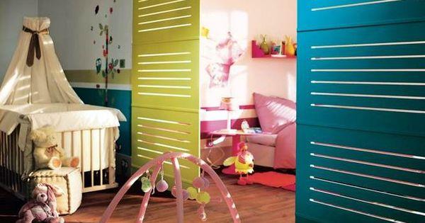 Cloisons amovibles chambre enfant parents for Cloison chambre bebe